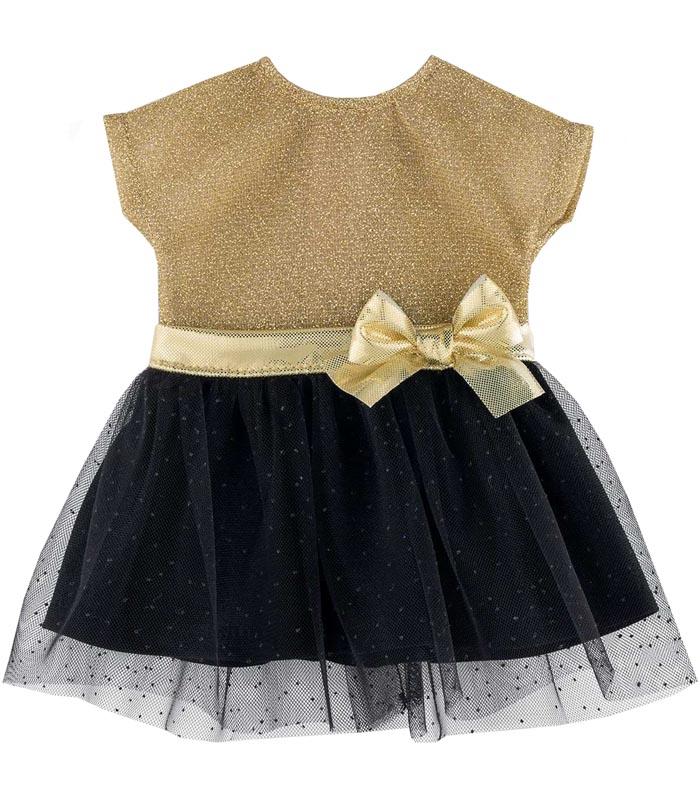 Corolle Dockkläder 36M Party Dress guld/svart