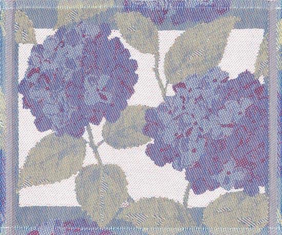 Diskduk Blå Hortensia
