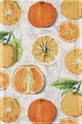 Handduk 40 x 60 cm Citrus*