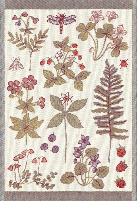 Handduk 35 x 50 cm 7 blommor*