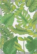 Handduk 35 x 50 cm Foliage