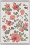 Handduk 40 x 60 cm Rose*