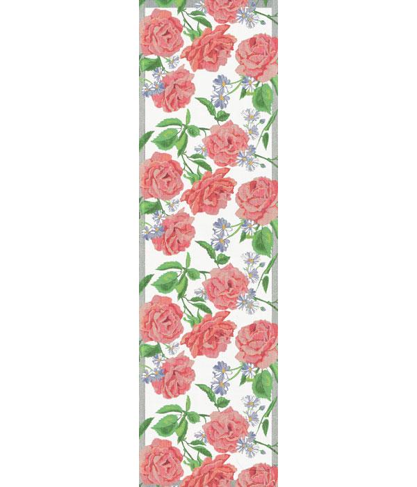 Löpare 35 x 120 cm Rosy