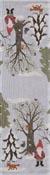 Bordslöpare 35 x 120 cm Julpromenad