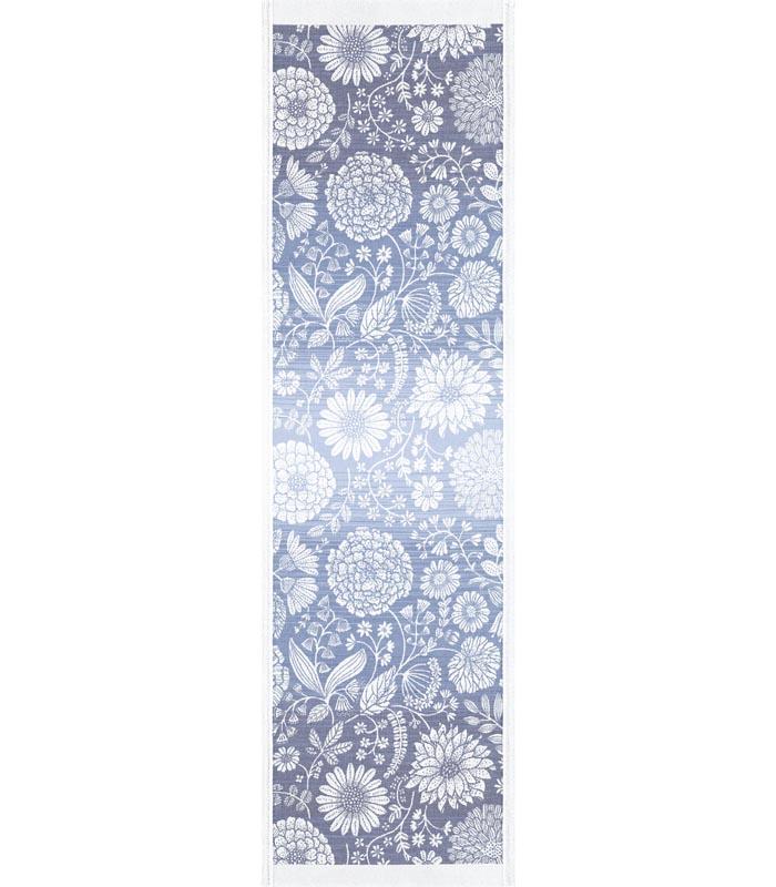 Löpare 35 x 120 cm Flytande Blå