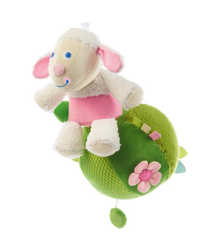Haba Speldosa baby Lamm på boll