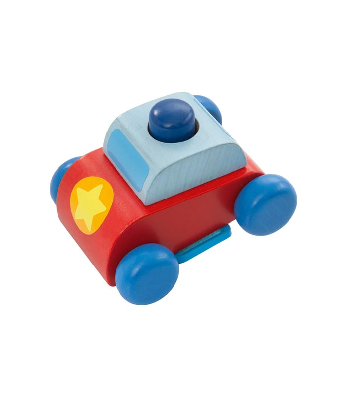 Haba Lekfigur Bil till sittvagn