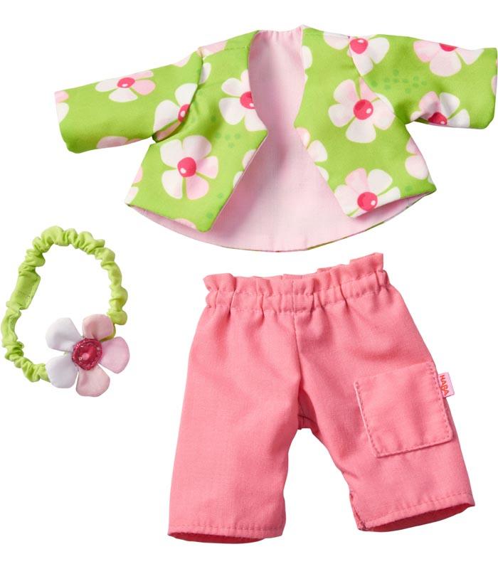 Haba Dockkläder Dress set Floral Magic