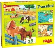 Haba Barnpussel Gård med djur