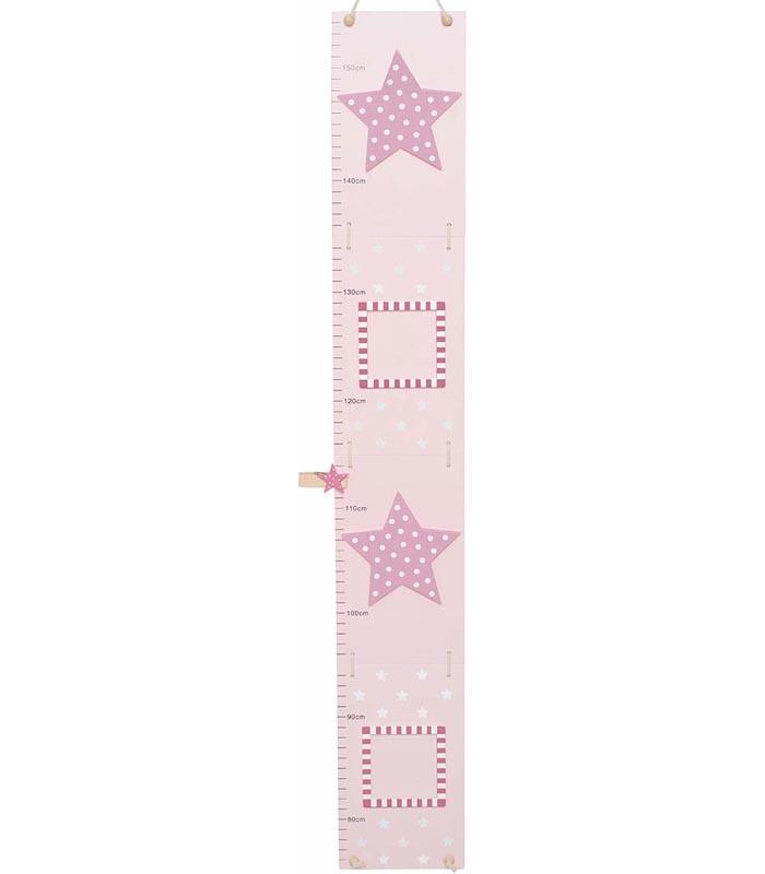 Jabadabado Mätsticka Stjärna rosa