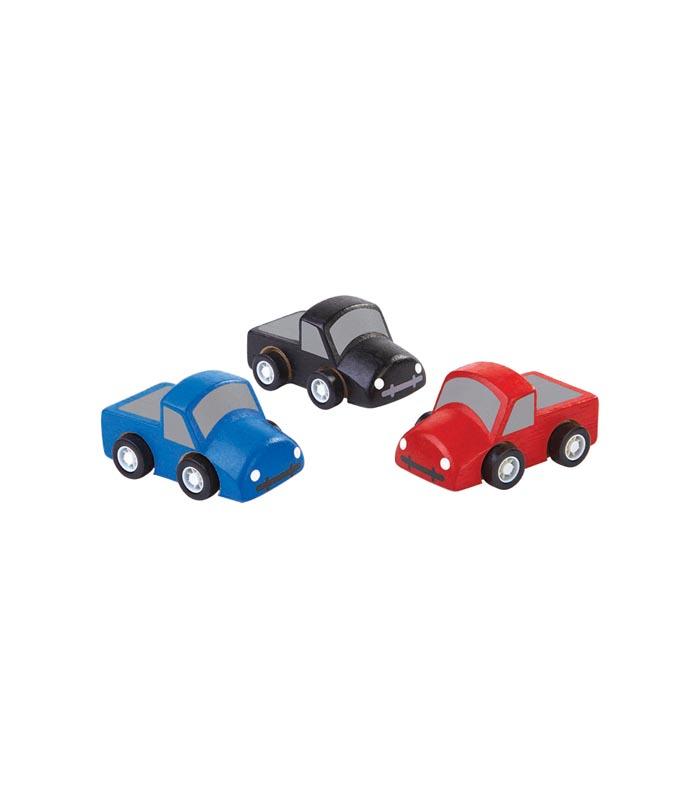 Plantoys Leksakslastbilar Små 3-p