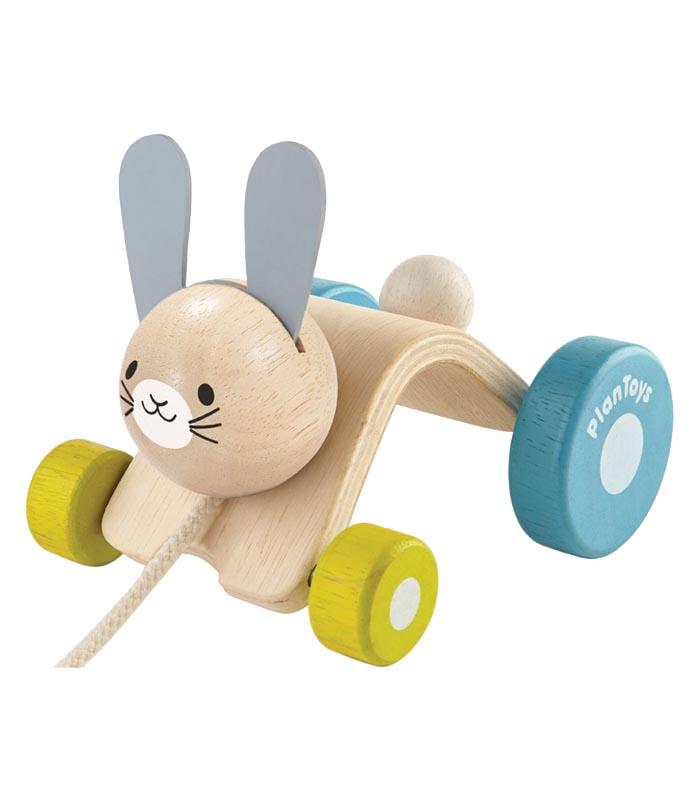 Plantoys Dragdjur Hoppande kanin