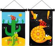 Scratch Spel Pilkastning magnetisk Ormar