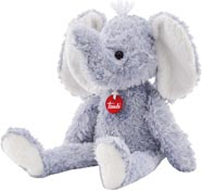 TRUDI Gosedjur Elefant Curly stor
