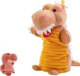 TRUDI Handdocka & fingerdocka Dinosaurie