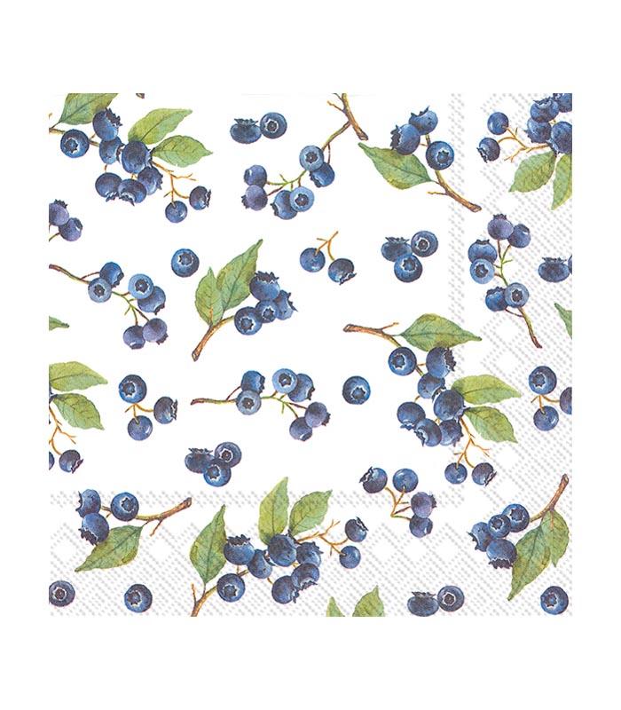 ihr Servetter Blueberries