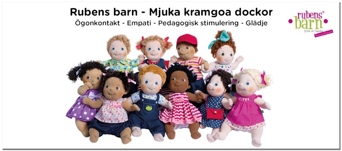 Rubens barn Kids dockor